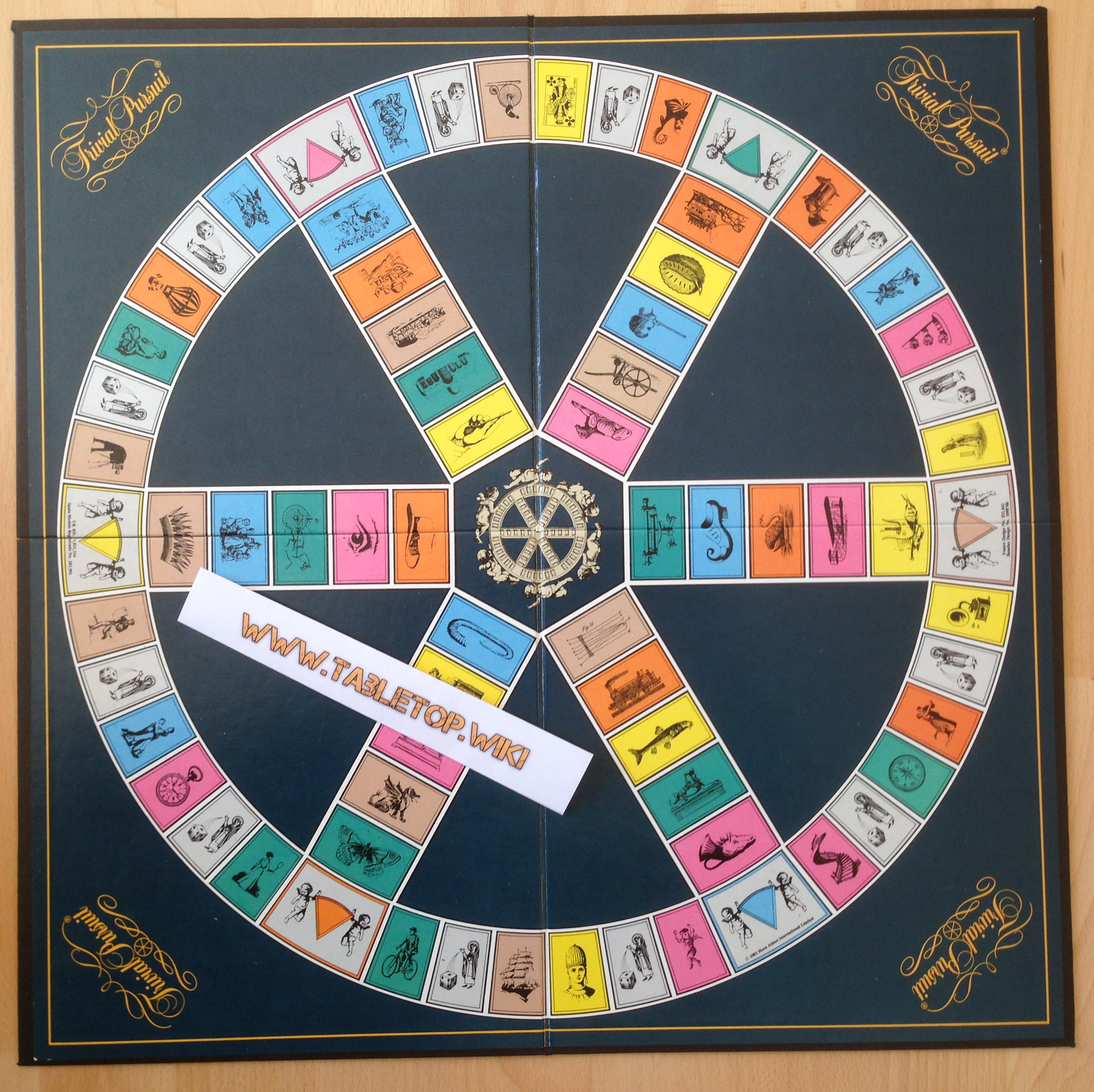 Trivial Pursuit Brettspiel