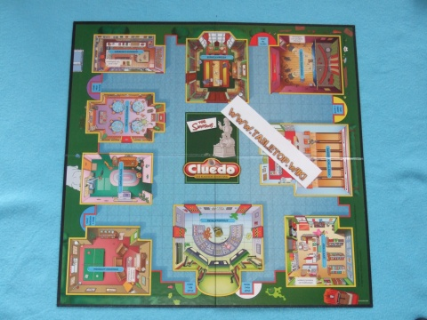 Cluedo Spielbrett