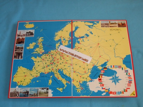 Europareise Spiel