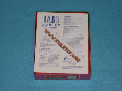 Tabu Anleitung